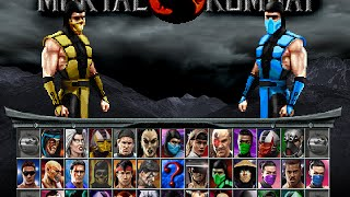 Mortal Kombat Project 4.1 V6 (versao Mugen 1.1) With Download