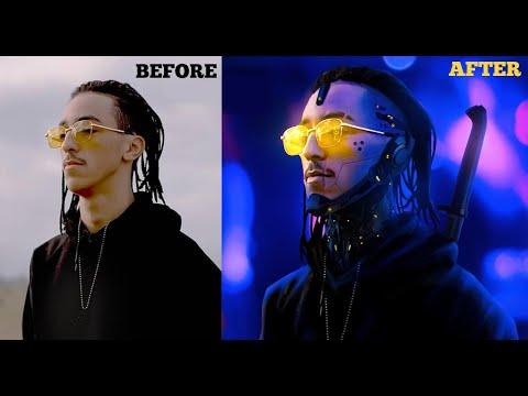 MADD Cyberpunk Style - Photoshop Speed Art