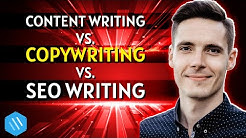 Content writing vs  Copywriting vs  SEO writing - what's the difference (and WHY it matters)