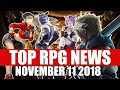 Top RPG News of the Week - Nov 11 2018 (Diablo Immortal, WoW Classic, FFVII)