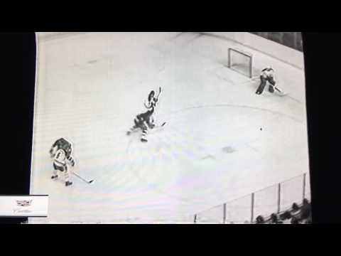 MIKE BOSSY FIRST NHL GOAL October 13, 1977