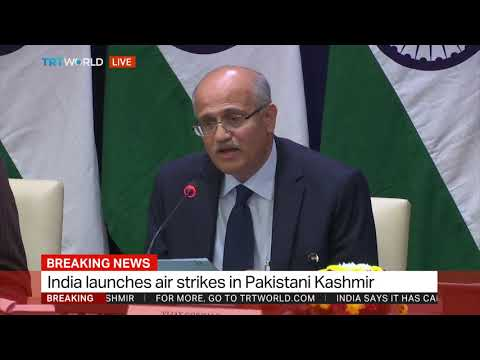 India foreign ministry briefs media