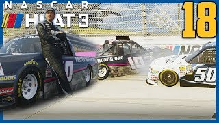 MOVE OVER CORN COBB! | NASCAR Heat 3 Career Mode |Truck Hot Seat: Dover| Ep. 18