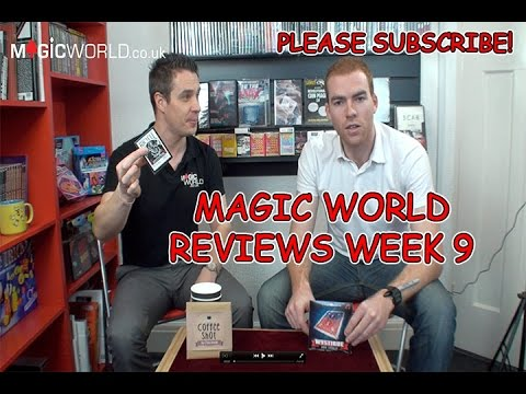 MagicWorld Review Week 9 Coffee Shot Vs Mystique by Dave Loosley