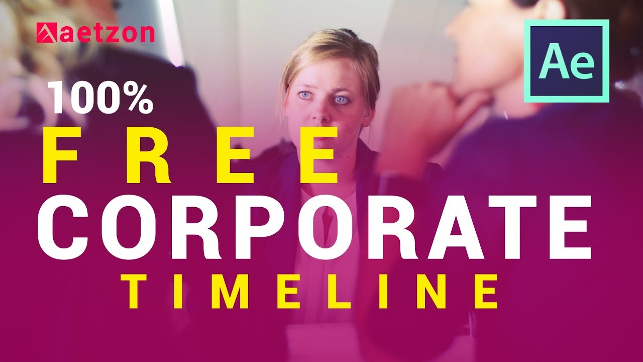 Corporate Timeline After Effects Free Download After Effects - After effects timeline template free