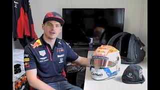 Max Verstappen Reveals His Special 2020 #styriangp #austriangp #jumbo Helmet