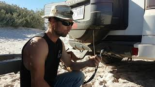 Keeping your trailer leads safe when going offroad