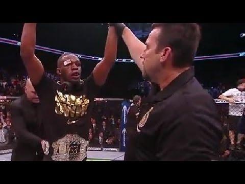 UFC 165: Jones & Gustafsson Octagon Interviews