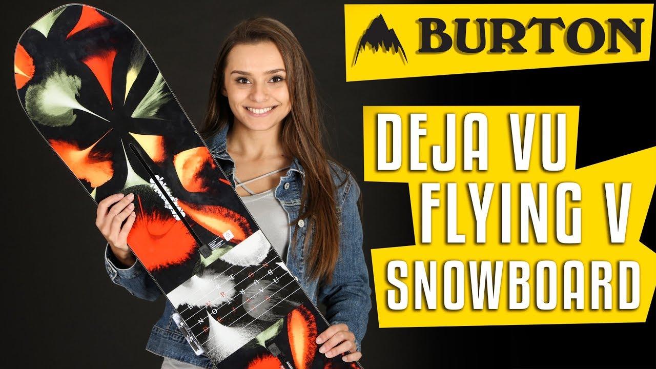80f557c8ee53 2018 Burton Deja Vu Flying V Snowboard - Womens - Review - The-House ...