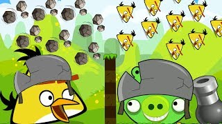 Angry Birds Collection Cannon 1 - MAD CHUCK SHOOT AND FORCE 1000 STONE TO PIGGIES