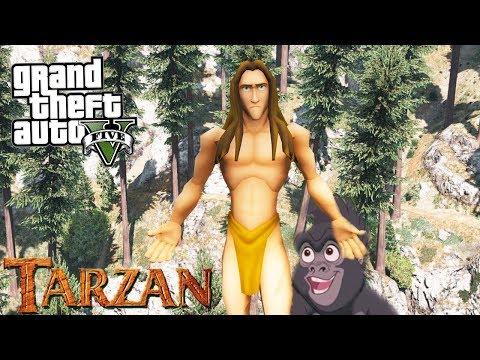 COMO IR PRO MUNDO DO TARZAN NO GTA V ?!?! (Muito Massa)