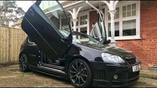 WE WENT TO LOOK AT A RICED OUT MK5 GOLF....?