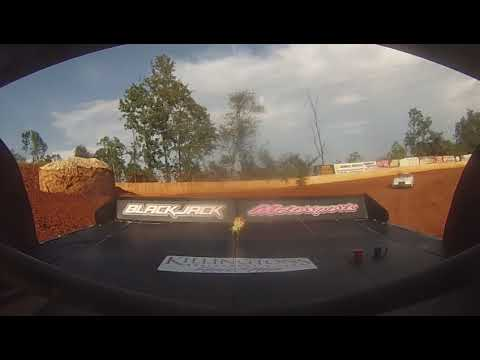 East Lincoln Speedway 8-17-19 Pro 4 Rear Cam Hot Laps Alexus Motes
