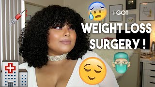I GOT WEIGHTLOSS SURGERY !! ONE MONTH & 3 WEEKS POST OP