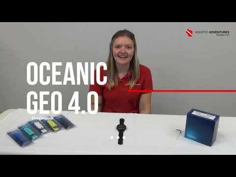Product Tutorials | Geo 4.0 Dive Computer