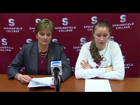 Springfield College Women's Basketball - ECAC Opening Round - Feb. 28, 2018