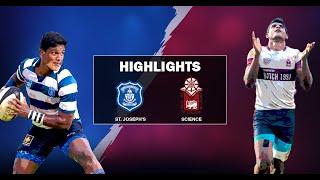Match Highlights - St. Joseph's v Science College Schools 2019 #1
