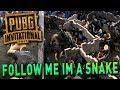 FOLLOW ME I´M A SNAKE TROLL - PUBG INVITATIONAL Live on Stream