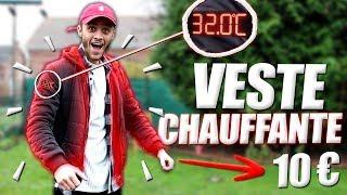 """JE TESTE UNE VESTE """"CHAUFFANTE"""" ! (-10EUR)"""