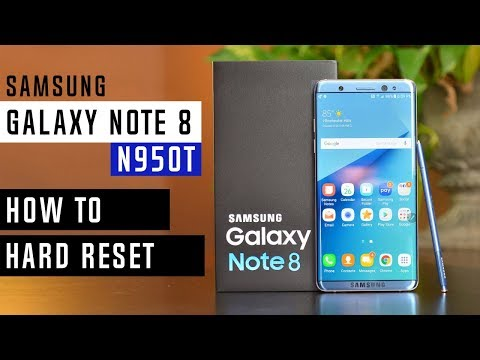 Samsung Note 8 Hard Reset How To Reset Samsung Galaxy Note 8