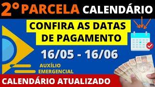 CALENDÁRIO DE PAGAMENTO E SAQUE DA 2° PARCELA DO AUXÍLIO EMERGENCIAL 2021