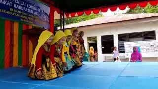 Video Tari Saman (Saman Dance) dari remaja putri Desa Lamleubok