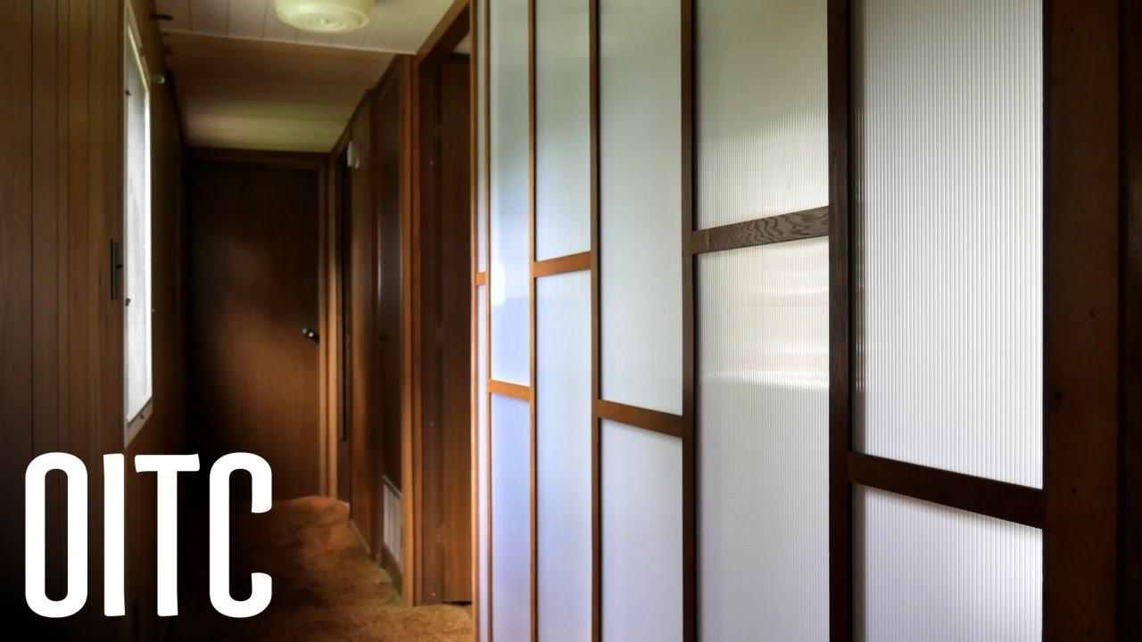 Diy Polycarbonate Walls Mobile Home Bedroom Remodel Youtube