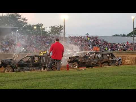 2019 Lebanon Area Fair Demolition Derby