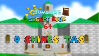 "[TAS] SM64: Sunshine Secret Book 64 - ""0 Shines"" in 1:45.13"