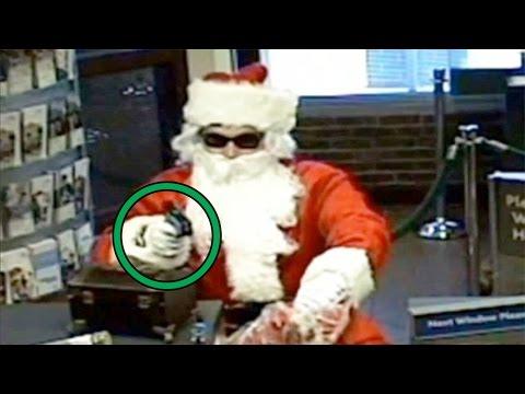 Top 15 Creepy EVIL Things People Did Dressed As Santa