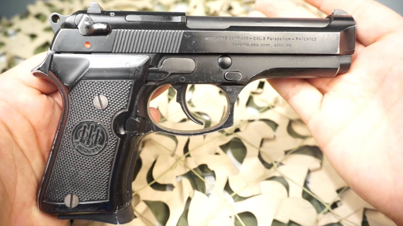 Beretta 92 Compact 92FS 9mm M9 US Military Duty Issue Police Pistol  Overview - New World Ordnance