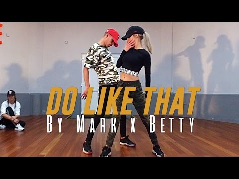 """Korede Bello """"DO LIKE THAT"""" Choreography by Mark x Betty (Class Video)"""