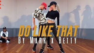 "Korede Bello ""DO LIKE THAT"" Choreography by Mark x Betty (Class Video)"
