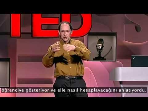 TEDx Konuşmaları /  Conrad Wolfram Çocuklara Bilgisayar ile Matematik Öğretmek