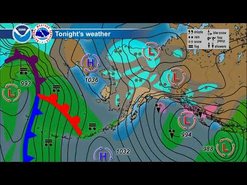 November 12, 2017 Alaska Weather Daily Briefing