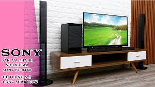 Nghe thử dàn âm thanh soundbar Sony 5 1 HT-RT40