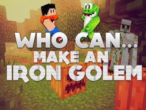 how to make an iron golem