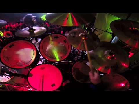 Circle Of Silence - An Oncoming Storm (Drum Cam)
