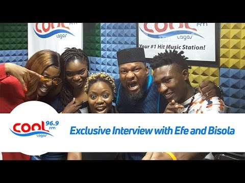 EXCLUSIVE INTERVIEW WITH EFE ( #BBNAIJA 2017 WINNER ) & BISOLA on Good Morning Nigeria Show