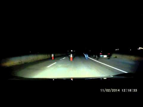 Sketchy Roadblock is listed (or ranked) 2 on the list Creepiest, Weirdest Things Caught on Dash Cams