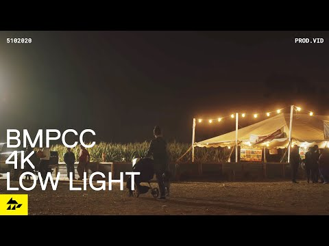 My First Impressions of the Blackmagic Pocket 4k in Low Light