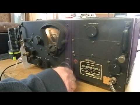 BC-348-R Military Receiver Made by Belmont Radio Company