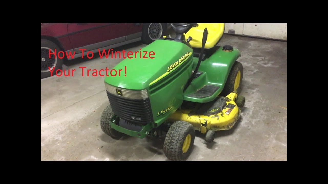 How To Remove Your John Deere Mower Deck Lx 277 Aws
