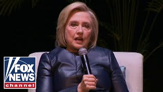 Hillary Clinton reacts to the arrest of Julian Assange
