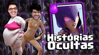 as histrias ocultas da bruxa do clash royale feat gelli clash