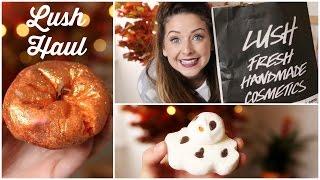 Huge Lush Haul | Zoella Thumbnail