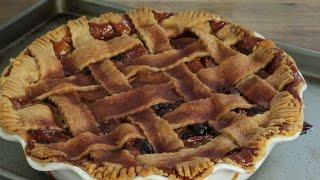 Dessert Recipes - How to Make Caramel Apple Cranberry Pie