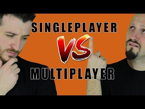 Il Single-Player Morirà in favore del Multiplayer nei Videogames?