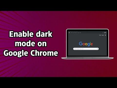 How to enable dark mode on Google Chrome (macOS & Windows)