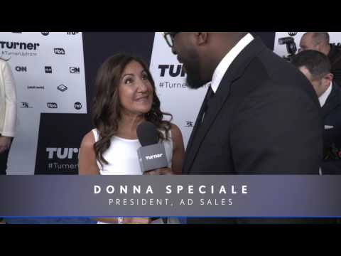 Turner Upfront 2017: Donna Speciale on the Red Carpet